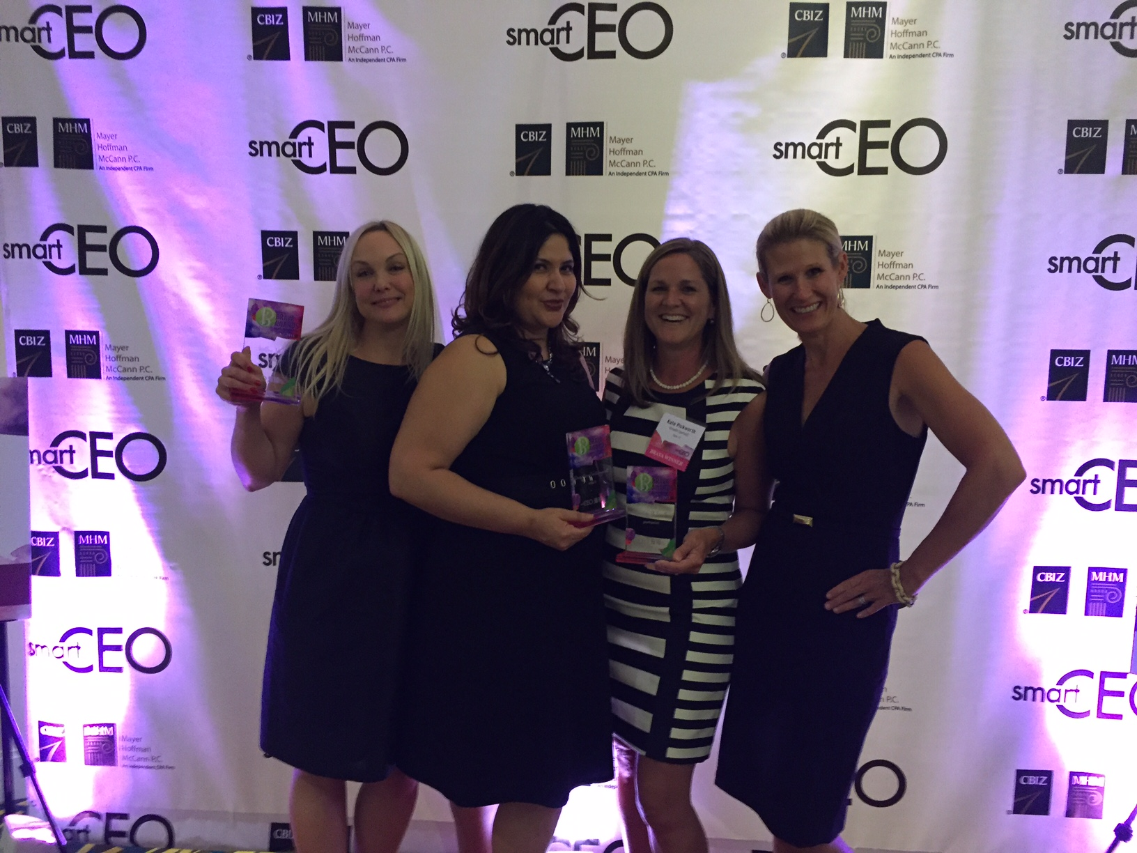 "CEO Courtney Spaeth Receives SmartCEO's ""Brava Award"""